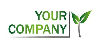 Logo_your company Royalty Free Stock Image