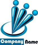 logo zaludnia Zdjęcie Stock