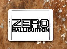 Logo zero della società di Halliburton Fotografie Stock
