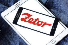 Zetor tractors manufacturer logo stock image