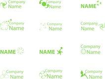 Logo4 vert Photos stock