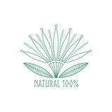 Logoabstrakt begreppblomma Arkivfoto