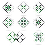 Logobau und -reparatur Stockbilder