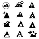 Logoberg Arkivfoto