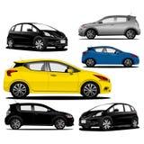 Collection modern car fullcolour illustration vector. LogoCar GaCollection modern car fullcolour illustration vector Stock Photography