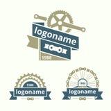 Logocykel Arkivbild