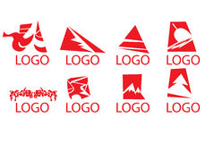 Logodesigne Lizenzfreie Stockbilder