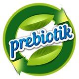 Logoelementgesundheit, prebiotik Lizenzfreie Stockbilder