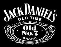 Logoen av märket Jack Daniels Royaltyfri Foto