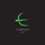 Logoen för bokstav E - ett symbol av din affär Royaltyfri Fotografi