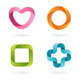 Logoentwürfe Stockbilder