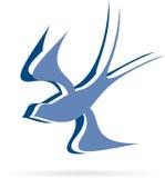 Logofliegenvogel stock abbildung