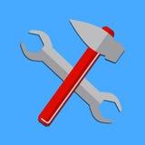 Logohaus gestalten Service um Lizenzfreie Stockbilder