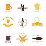 Logoinspiration för shoppar, företag, advertizingen eller annan affär Fotografering för Bildbyråer