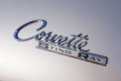Logol korweta Sting Ray klasyka samochód Obrazy Royalty Free