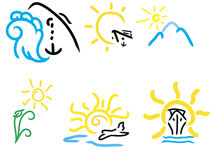 logolopp stock illustrationer