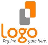 logomall för 4 förlaga Royaltyfria Foton