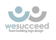 logomall för 6 förlaga Arkivbild