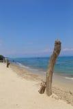 Logon море пляжа стоковые изображения