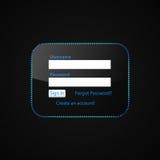 LOGON-Formular Stockbild