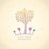 Logopresentaffär Royaltyfri Foto