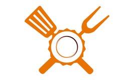 Logorestaurant Stockbilder