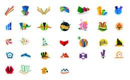 Logos. For modern company. ai file available Stock Photos