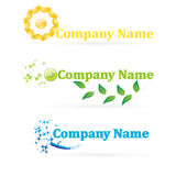 Logos. Logo for your company Royalty Free Stock Photos