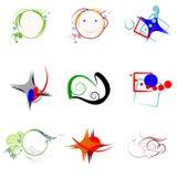Logos Illustration Stock