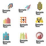 Logos_5 Lizenzfreie Stockbilder