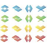 Logos abstract Stock Photos