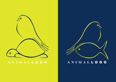Logos animaux illustration stock