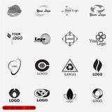 Logos astratto di vettore Immagini Stock