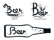 Logos beer Stock Photo