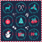 Logos for Christmas Stock Images
