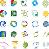 Logos Collection, Service, Multimedia Stock Image