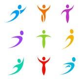 Logos company pack Royalty Free Stock Image