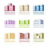 logos de construction Image stock