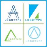 Logos de corporation de vecteur photos libres de droits
