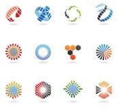 Logos de flèche Image stock