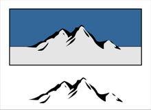 Logos de montagne Photographie stock