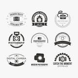 Logos de photographie Photographie stock