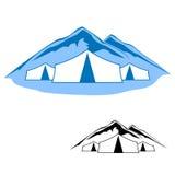 Logos de recherche active Illustration Stock