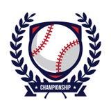 Logos de tournoi de base-ball Images libres de droits