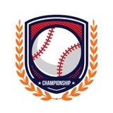 Logos de tournoi de base-ball Photo libre de droits