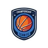 Logos de tournoi de basket-ball Images stock