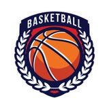 Logos de tournoi de basket-ball Image libre de droits