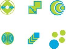 Logos de vecteur Photos stock