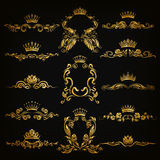 Logos del monogramma messo royalty illustrazione gratis