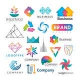 Logos di affari Fotografia Stock